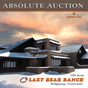 Luxury Ranch Auction Lazy Bear Ranch