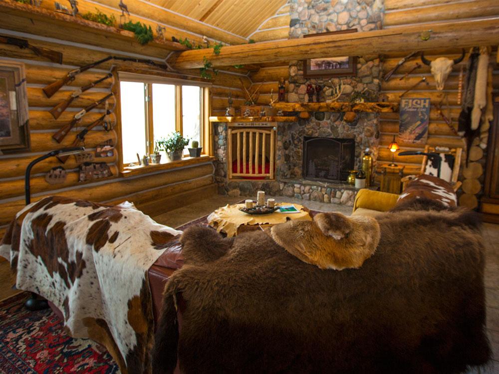 Log Home Montana