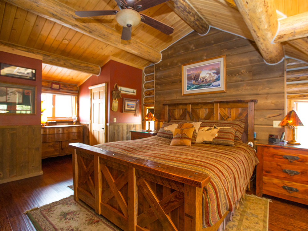 Madison River Log Home