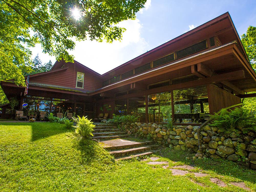 Ghost Lake Lodge, Cabins & Log Home - Luxury Real Estate