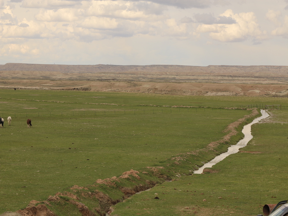 Wyoming Ranch with Water